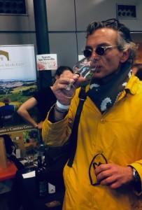 Ernesto De Benedictis Direttore Vinoet alla Fiera VAN
