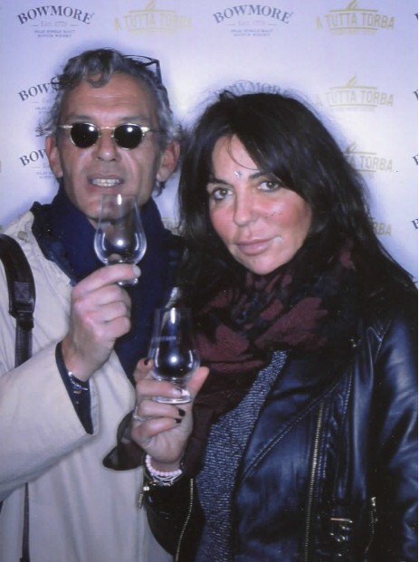 Ernesto De Benedictis direttore Vinoet al Roma Whisky Festival 2018