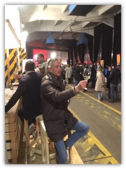 Ernesto De Benedictis direttore Vinoet alla manifestazione Incontri d'Autore