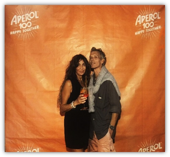 Ernesto De Benedictis direttore Vinoet al Roma Aperol Spritz Festival 2019